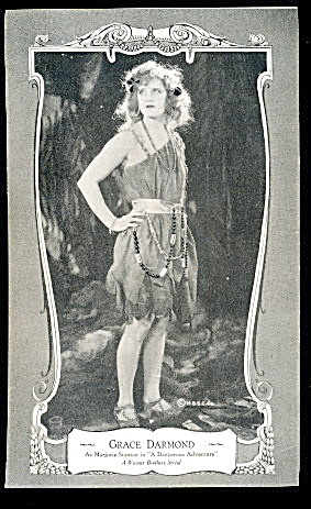1920 Grace Darmond Actress Flapper Postcard