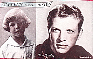 1960s Dan Dailey 'Then and Now' Actor Arcade Card (Image1)