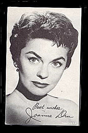 1960s Joanne Dru Actress Arcade Card (Image1)