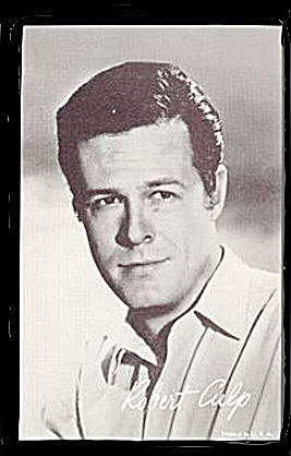 1960s Robert Culp Actor Arcade Card