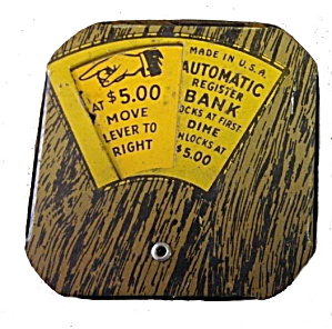 Lucky Dime Register Bank - Circa 1910