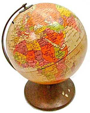 "Replogle 6"" Vintage Globe Bank"