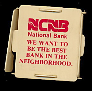 Early Cube Ncnb (National Bank) Florida Plastic Bank