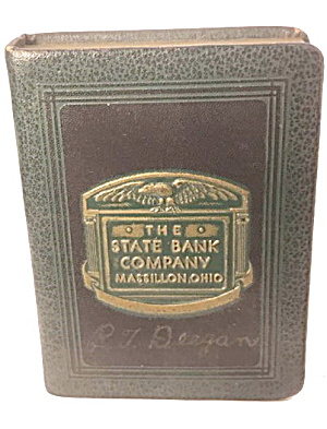1921 State Massillon Ohio Book Bank