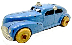 1930s Barclay Taxi In Blue Diecast Car