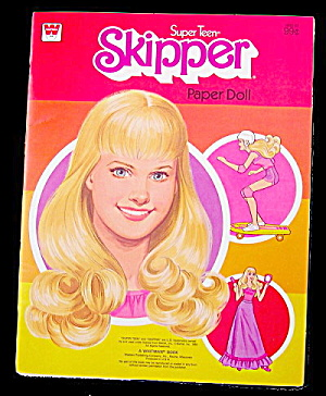1980 Whitman Barbie Super Teen Skipper Paper Dolls