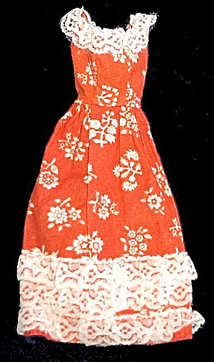 1976 Barbie 9571 Best Buy Peasant Dress