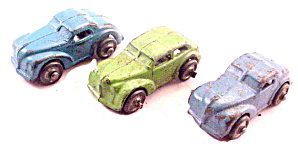3 1931 Barclay Or Kansas Slush Cars Or Sedans