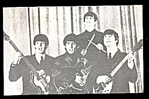 1960s Beatles Exhibit Series #6 Postcard
