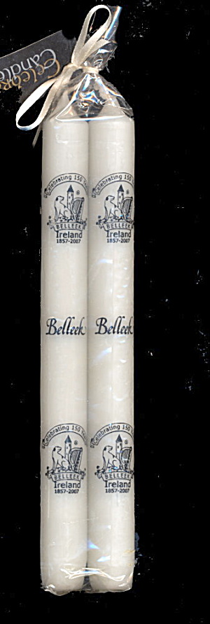 2007 150 Years Celebrating Belleek Taper Candles (Image1)