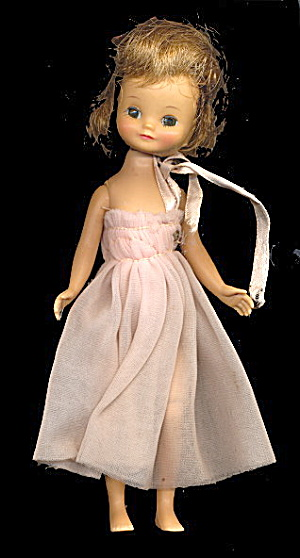 "1950s 8"" Betsy McCall Doll in Pink Dress (Image1)"