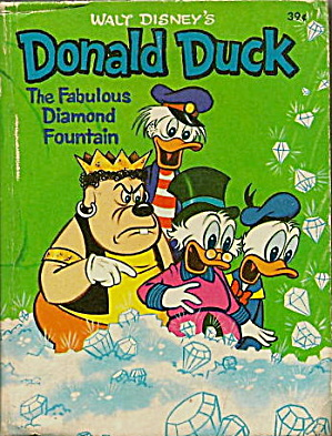 Walt Disney Donald Duck & Diamond Fountain Little Book (Image1)