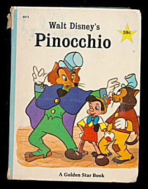 Walt Disney's 'Pinocchio' 1967 Big Little Book (Image1)