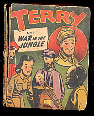 1944 'Terry & War in the Jungle' Big Little Book (Image1)