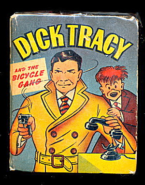 Dick Tracy & The Bicycle Gang 1948 Big Little Book