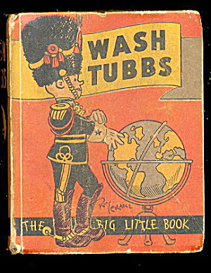 1937 Wash Tubbs The Big Little Book