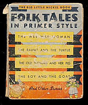 1935 'Folk Tales' Whitman Big Little Book (Image1)