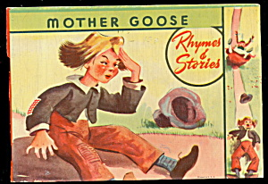1925 'mother Goose Rhymes Of Stories' Children's Book