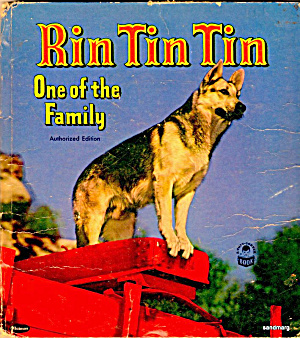 "1953 ""Rin Tin Tin One of the Family"" Book (Image1)"