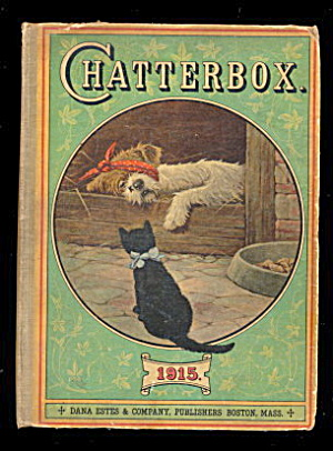"1915 ""chatterbox"" Childrens Book"