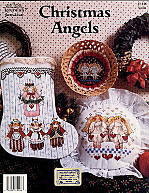 """Christmas Angels"" Jeremiah Junction X-Stitch (Image1)"