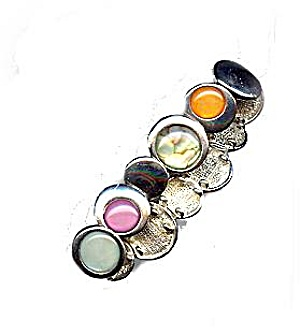 Lovely Circle with Glass Link Bracelet (Image1)