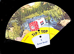 1948 Tip-Top Bread Fold-Out Advertising Fan  (Image1)