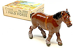 1930s Britains 5003 Field Horse In Box