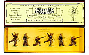 Britains #8803 British Infantry Mint In Box