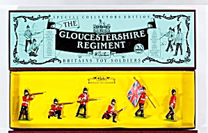 Britains Soldiers 8809 The Gloustershire Regiment