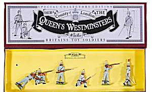 Britains 8827 Queen's Westminsters 16th County Mib