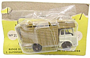 1960s Budgie 25 Horse Trailer In Package