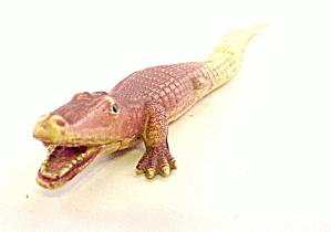 "1920's Celluloid 7 1/2"" Alligator (Image1)"