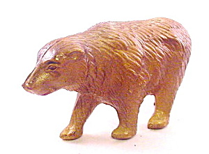 ca 1920s Viscaloid Celluloid Bear Animal Toy (Image1)