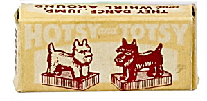 1950's Magnetic Bottom Hotsy And Totsy - Scottie Dogs