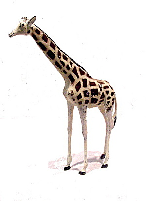 1920s Britains #912 Lead Zoo Adult Giraffe