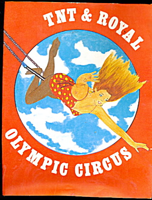 1978 Tnt & Royal Olympic Circus Coloring Book