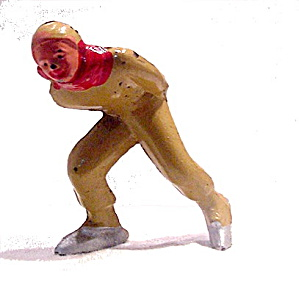 (B180) Barclay Man Speed Skater
