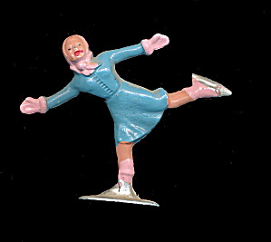 (B181) Barclay Girl In Blue Figure Skater