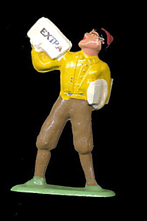 (B621) Barclay 621 Newsboy - Near Mint