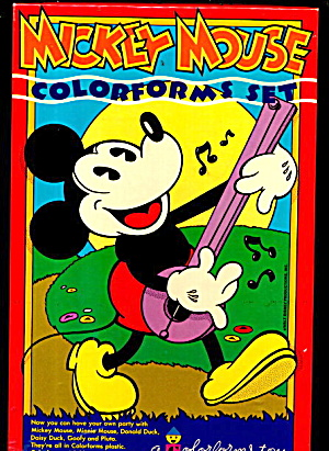1970 Mickey Mouse Colorforms #465 #2 (Image1)
