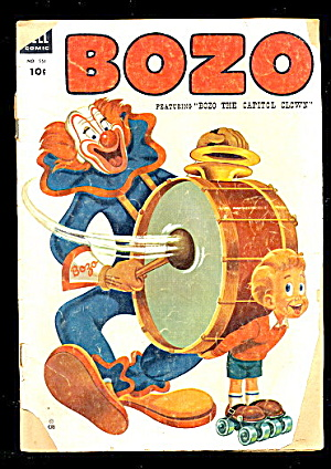 Bozo Dell Four Color #551 Golden Age Comic 1954 4-color