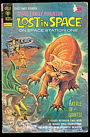 Lost In Space Comic Book #41 Vintage 1974 Whitman Comic