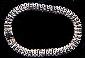 """Silvertone Coro 1950s Choker 15"""" Necklace (Image1)"""