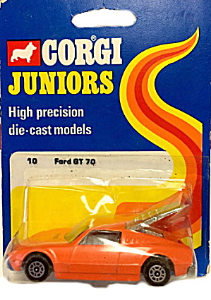 1973 Corgi Jr 10 Ford Gt 70 Car Moc