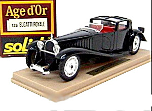 Solido #136 - Bugati Royale Car Mint In Box