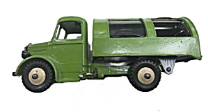 Dinky Toy #252 Bedford Refuse Truck - Htf Color