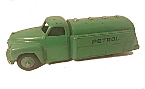 Dinky Toys #30p Green Petrol Tanker