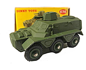 Dinky #676 Armoured Personnel Carrier Near Mint In Box