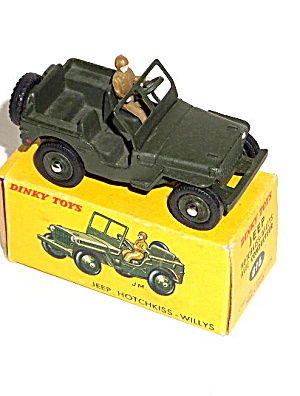 Dinky 816 Army Jeep Hotchkiss-willys Nmib